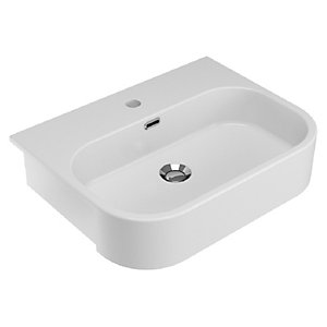 Wickes Siena 1 Tap Hole Semi Recessed Basin - 560mm