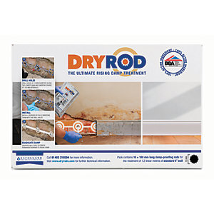 Dryrod Damp Proof Course Rods - 180mm Pack of 10