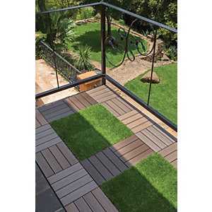 deck tiles | decking | wickes.co.uk