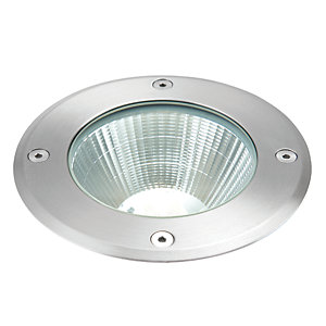Ascoli LED Daylight White Intergrated Recessed Ground Light - Drive and walk over