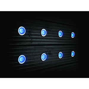 Wickes LED Blue Deck Lights 45mm - 3.2W