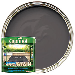 Cuprinol Anti-Slip Decking Stain - Black Ash 2.5L