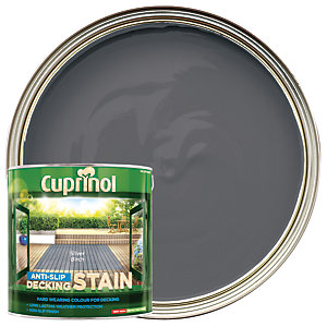 Cuprinol Anti-Slip Decking Stain Silver Birch 2.5L