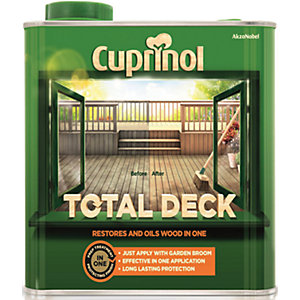 Cuprinol Total Deck Preserver - 2.5L