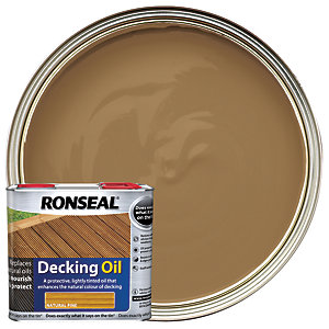 Ronseal Decking Oil - Natural Pine 2.5L