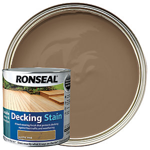 Ronseal Decking Stain - Rustic Pine 2.5L
