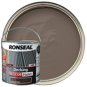 Ronseal Rescue Decking Paint - English Oak 2.5L