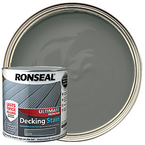 Ronseal Ultimate Protection Decking Stain - Slate 2.5L