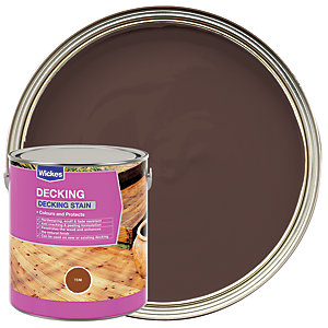 Wickes Decking Stain - Teak 2.5L