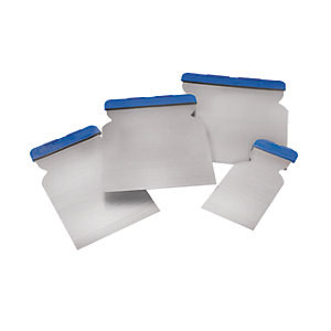 Wickes Euro Filling Knife Blade 4 Piece Set
