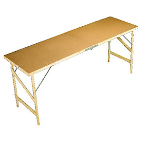 Wickes Hardboard Paste Table 1780 x 560mm