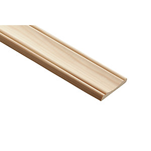 Wickes Pine Decorative Panel Moulding 56mm X 7mm 2 4m