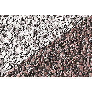 Wickes Decorative Plum Slate Chippings - Jumbo Bag