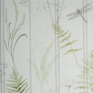 Arthouse Nature Panel Green Wallpaper 10.05m x 53cm