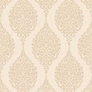 Graham & Brown Superfresco Colour Luna Decorative Wallpaper Gold - 10m