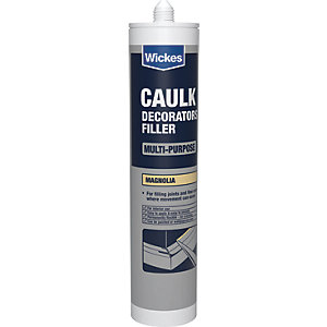 Wickes Decorators Caulk - Magnolia 310ml