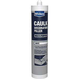 Wickes Decorators Caulk - White 310ml