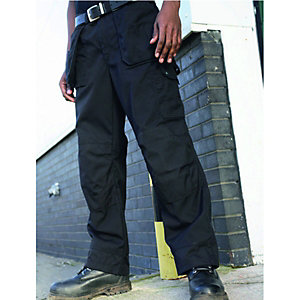 Dickies Multi-Pocket Trousers Black Reg Leg