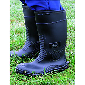 Dickies Safety Wellington Boot - Black