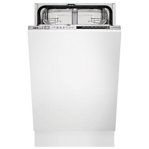 AEG 45cm Integrated Slimline Dishwasher FSK73400P