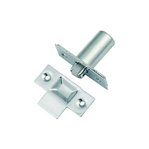 Wickes Adjustable Roller Door Catch - Chrome