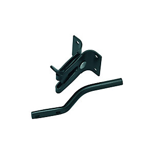 Wickes Gate Latch Auto - Black
