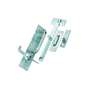 Wickes Suffolk Gate Latch - Galvanised