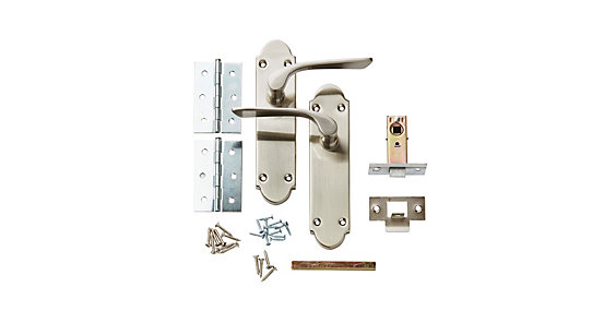 Pierre Latch Door Handle Set