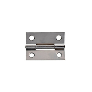 Wickes Butt Hinge - Chrome 51mm Pack of 20