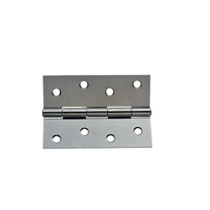 Wickes Butt Hinge - Zinc Plated 102mm Pack of 3