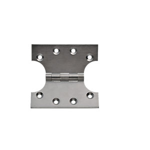 Wickes Parliament Hinge - Satin Chrome 102mm Pack of 2