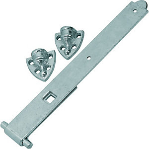 Wickes Reversible Hinge - Zinc 300mm