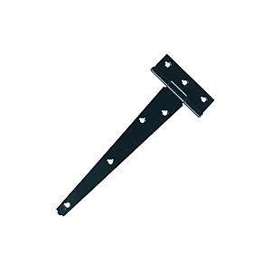 Wickes Tee Hinge - Black Japanned 150mm