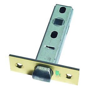 Urfic RT903-60-01TBL Tubular Door Latch - Brass 75mm