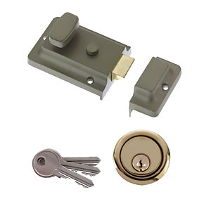 Yale Essentials Yes-nl-gr Night Latch - Green