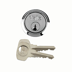 Yale P-1109-CH Replacement Cylinder Lock - Chrome