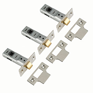 Yale P-M888-BZ-64-3 2 Tubular Door Latch - Chrome 64mm Pack of 3