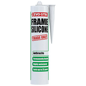 Evo-stik Trade Only Frame Silicone Anthracite 280ml