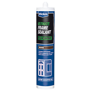 Wickes Ultimate Frame Sealant Brown 290ml