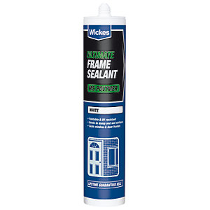 Wickes Ultimate Frame Sealant White 290ml