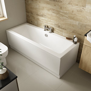 Wickes Camisa Double Ended Bath - 1700mm x 700mm
