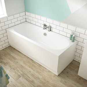 Wickes Forenza Double Ended Bath - 1700mm x 700mm
