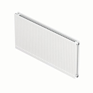 Wickes Type 21 Double Panel Plus Universal Radiator - White 600 x 600 mm