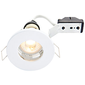 Wickes White LED IP65 Downlight - 4W