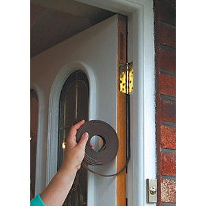 Stormguard Silent Acoustic Door Seal Brown - 6m