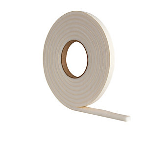 Wickes Extra Thick Draught Seal White - 3.5m