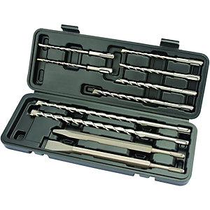 Wickes SDS+ Drill 10 Piece Bit Set