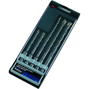 Wickes SDS+ Drill Bit Multi Set - Pack of 5