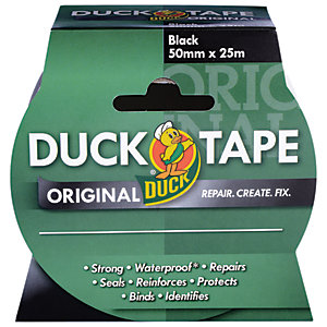 Duck Tape Original Black 50mm x 25m