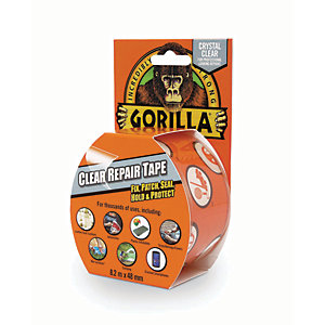 Gorilla Tape Crystal Clear - 48mm x 8.2m